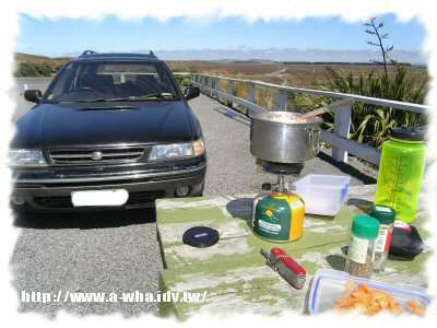 【NewZealand紐西蘭打工度假日記】野炊旅行三~配著魔戒火山一起吃飯!