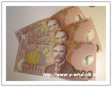 【NewZealand紐西蘭打工度假日記】打工度假預算篇~要帶多少盤纏在身上呢?